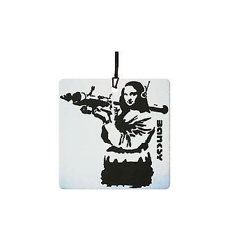 Refrogerador de ar de Mona Lisa carro Banksy RPG