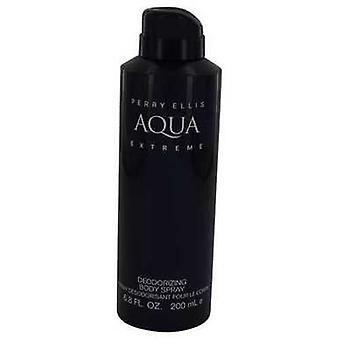 Perry Ellis Aqua Extreme de Perry Ellis Body Spray 6.8 Oz (hommes) V728-540686