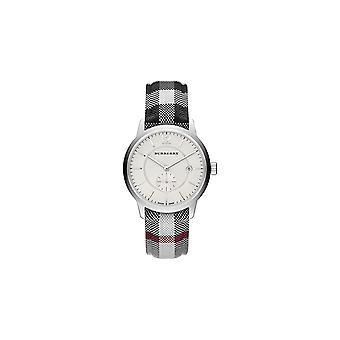 Burberry Bu10002 rost fritt stål textil kvarts män klocka