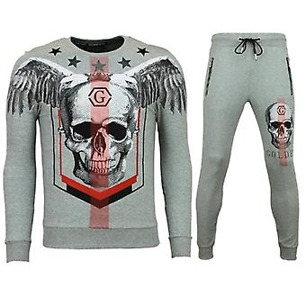Tracksuits - Jogging suit - Star Skull - Grey