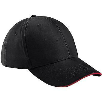Beechfield-Athleisure 6-panel Baseball Cap-hoed