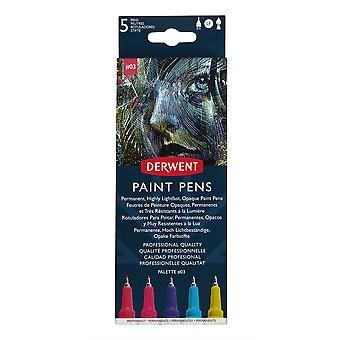 Derwent Paint Pens Palette Set #3