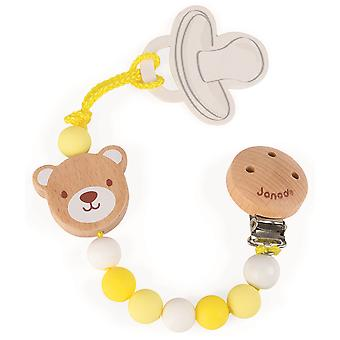 Janod Baby Pop Bear Soother Holder