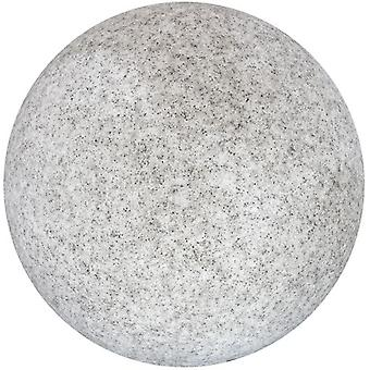 Wellindal Lámpara Sphere Pe-Abs Piedra Exterior