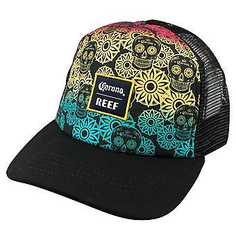 Corona Reef regenboog suiker schedel Trucker Hat