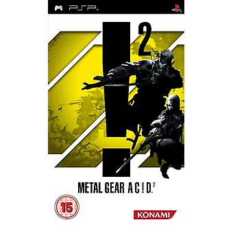 Metal Gear Acid 2 (PSP) - New