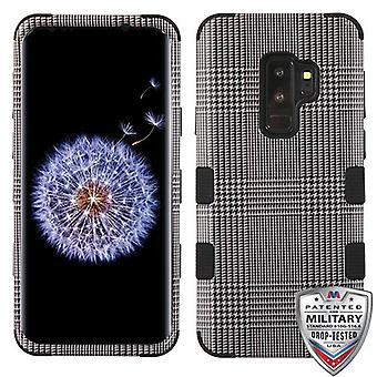 MYBAT GreyBlazer/Black TUFF Hybrid Case for Galaxy S9 Plus