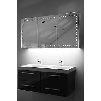 Demist kabinett med LED Under belysning, Sensor & interne barbermaskinen k377