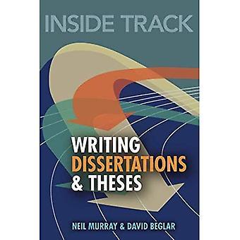 Binnenspoor op het schrijven van dissertaties en thesissen