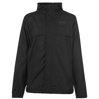 Everlast Mens Gents malha forro com capuz chuveiro jaqueta de chuva esportes outerwear