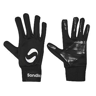 Sondico Unisex kinderen Childrens spelers Voetbalopleiding sport handschoenen