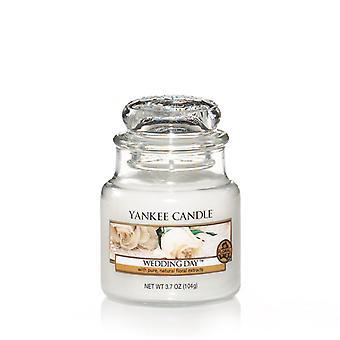 Vela yankee Clássico Pequeno Jar Wedding Day Candle 104g