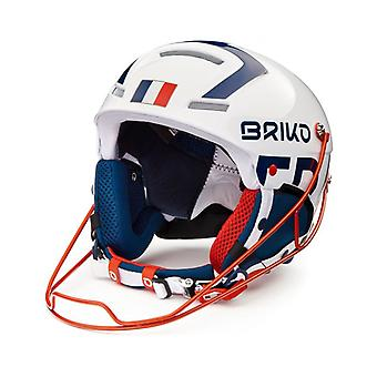Briko Slalom France Shiny White Blue