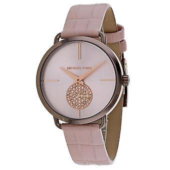 Michael Kors Mujeres's Portia Rose Gold Dial Watch - MK2721