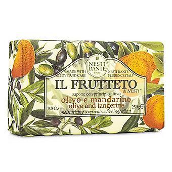 Nesti Dante Il Frutteto kosteuttava saippua - Olive & Tangerine - 250g/8,8 oz