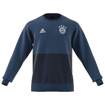 2019-2020 Bayern München Adidas seizoensgebonden speciale Sweatshirt (Navy)