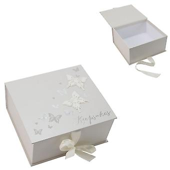 Juliana Wings of Love Butterfly Paperwrap Keepsake Box