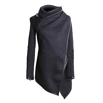 Vincenza señoras chaqueta de mujer invierno top asimétrico gabardina