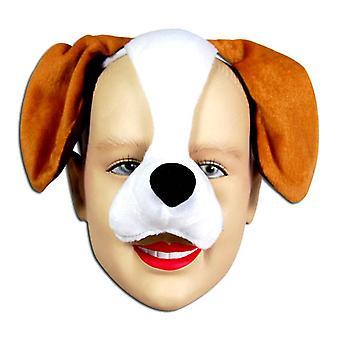 Hund Mask på pannband & ljud.