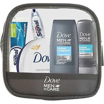 Dove Travel toiletry bag For Men (6 pieces)