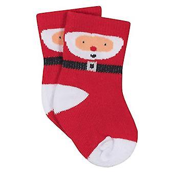 Gerber unisex Baby 8-pereche wiggle Proof Sock, Santa 6-12, Santa, dimensiune 6-12 luni