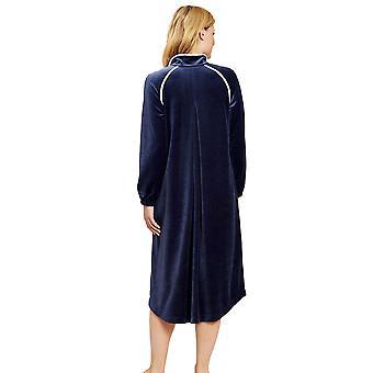 Feraud 3201057-11812 Women's Couture Velvet Morning Dressing Gown