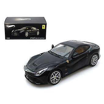 Ferrari F12 Berlinetta Blue Elite Edition 1/43 Diecast Car Model by Hotwheels