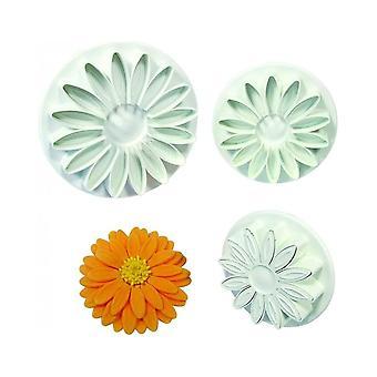 PME Veined Sunflower Daisy Gerbera Cutter Set Of 3