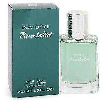 Davidoff Run Wild By Davidoff Eau De Toilette Spray 1.6 Oz (men) V728-547646