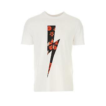 T-shirt stretch met reden - Neil Barrett
