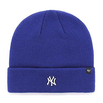 47 Brand Knit Beanie - Centerfield New York Yankees royal