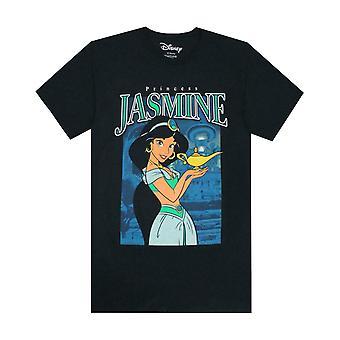 Disney Princess Jasmine Women's Short Sleeve Cotton T-shirt