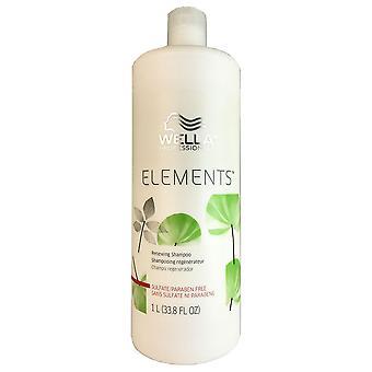 Wella éléments shampooing capiculaire litre 33,8 oz bouteille