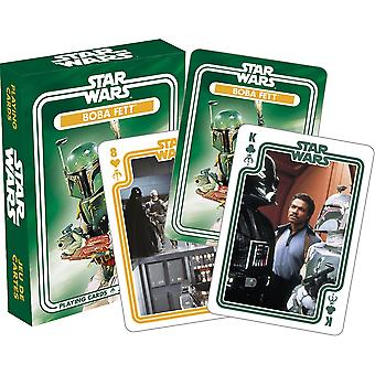 Star wars - boba fett playing cards