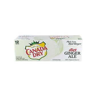 Canada Dry Diet Gingerale-( 355 Ml X 12 Cans )