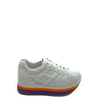 Hogan Ezbc030183 Damen's Sneakers aus weißem Leder
