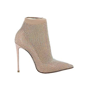 Le Silla 2118m100r1ppcay158 Women-apos;s Nude Synthetic Fibers Ankle Boots