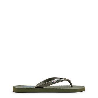 U.S. Polo Assn. Original Men Spring/Summer Flip Flops - Green Color 31556