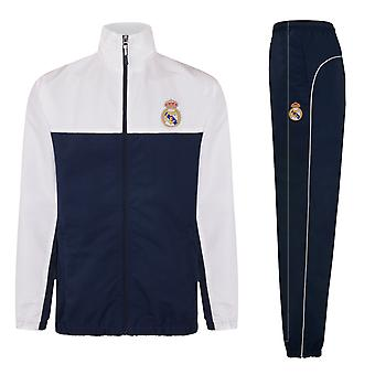 Real Madrid Official Football Gift Mens Graphic Fleece Hoody