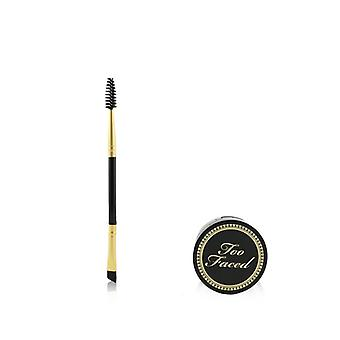 Too Faced Bulletproof Brows 24h Waterproof Cashmere Clay With Brush - # Universal Brunette (unboxed) - 2pcs