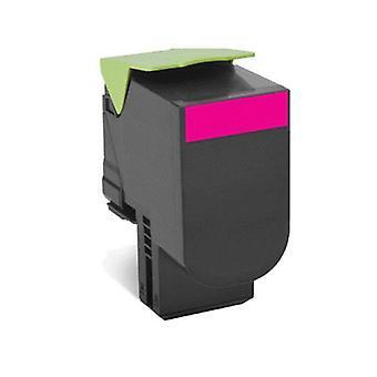 Lexmark 808Hme Magenta High Yield Corporate Toner Cartridge 3K