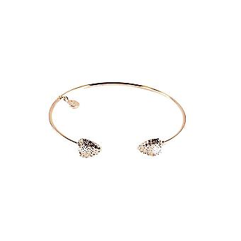 Fable Womens/Ladies Strawberry Brass Bangle And Gift Box