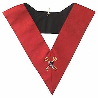 Masonic aasr collar 18th degree - knight rose croix - treasurer