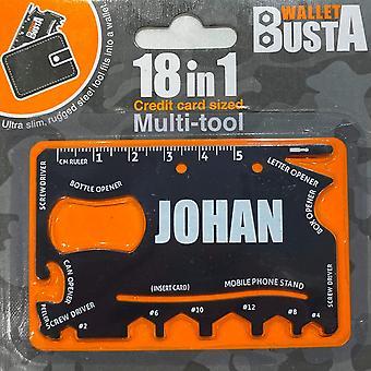 Multitool Multitool JOHAN debetní karta kreditní karty