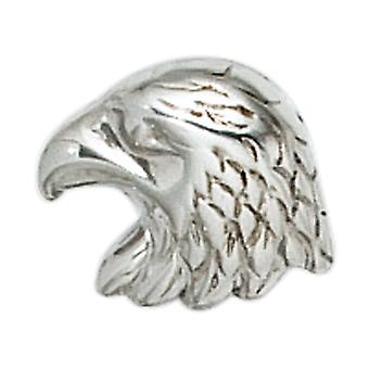 Single stud earrings eagle 925 sterling silver rhodium-plated
