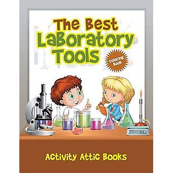 The Best Laboratory Tools Coloring Book by Activity Attic Books