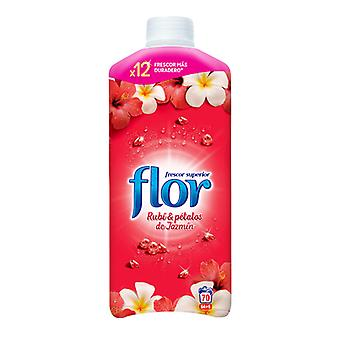 Flor Red Ruby & Jasmine Petals Concentrated Fabric Samaciante 1.5 L (70 lava-jatos)/x1