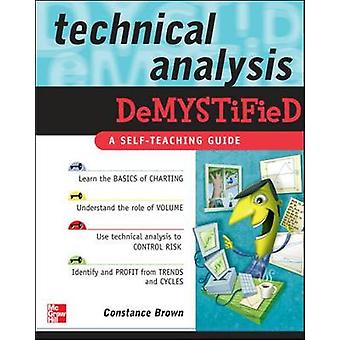 Technische analyse Demystified door Constance Brown