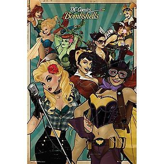 DC Comics Pommit Maxi Juliste