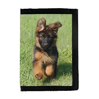 German German Shepherd Dog Puppy Wallet